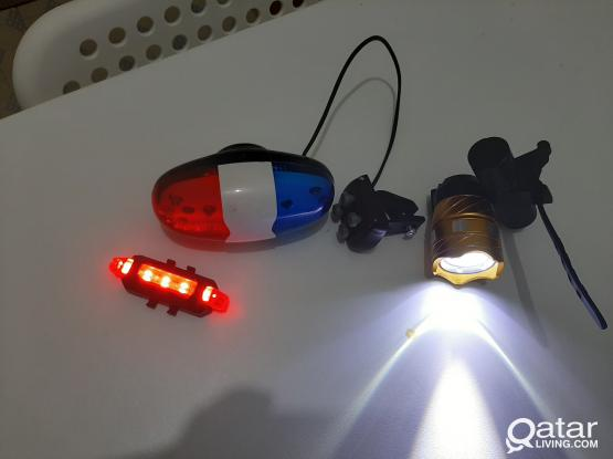 Cycle Lights and Horn QR. 85.00
