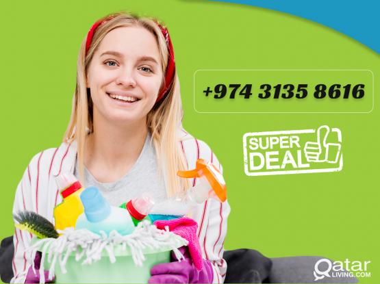 Professional Female Cleaners - Bumper Offer - Just call / Whatsapp on 3135 8616