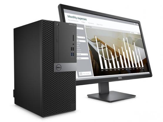"DELL OPTIPLEX 7050-i7-16GB RAM-1TB-HDD‐ 23""LED monitor(33176355)"