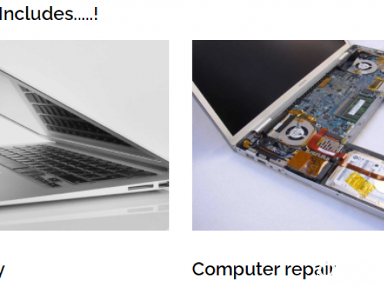Laptop Repair / Backup Drive / Battery, Keyboard & Screen Replacement / Hardware Issues