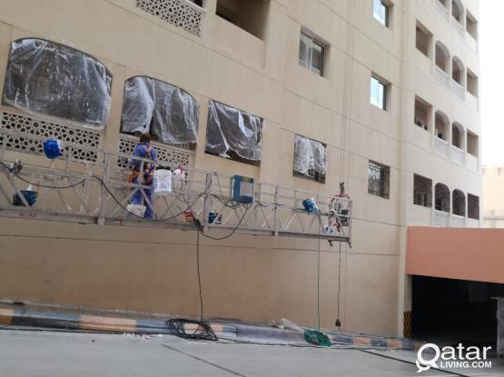 Painting, Gypsum board, Tiles, hadid, waterproofing.  Please call 50186050 / 50961340