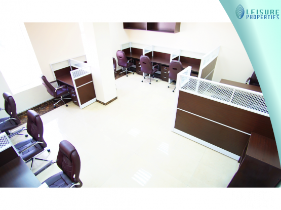 No Commission ! Furnished Office For Rent (LP 101432)