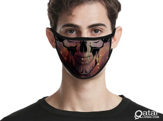Decorative mask shield for adults and kids