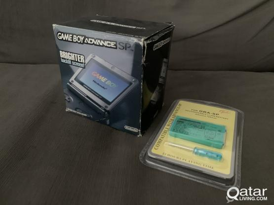 Brand new sealed still in box Game Boy Advance SP + extra battery