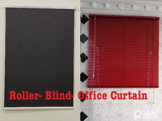Roller- Blind- Vertical- Blackout  33441020