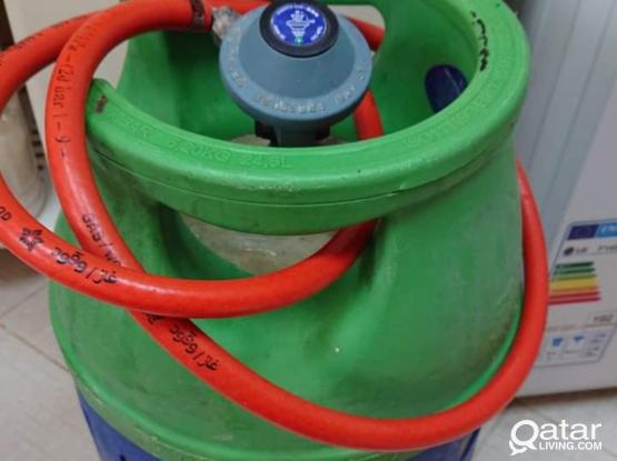 WOQOD Shafaf Cooking Gas Cylinder with Regulator