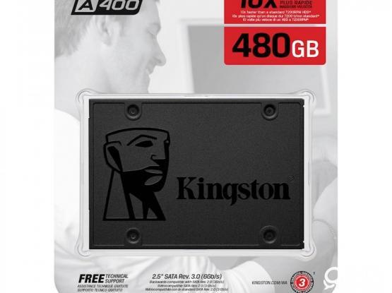 Kingston 480GB SSD Brand New Sealed