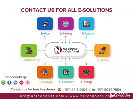 Website and mob apps  (Trading, Contracting, Services, E-Commerce, Classified Portals, Hirings)