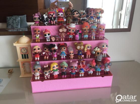 Lol dolls collection ( L.O.L ) 32 pcs original