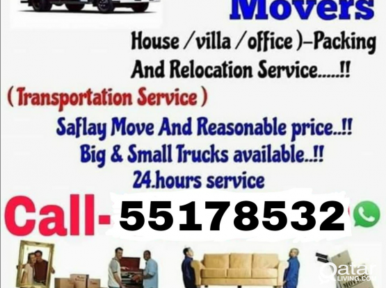 All type of shifting and moving. Please call 55178532