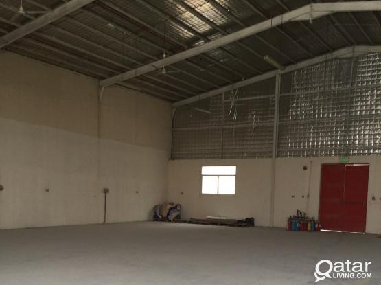 CARPENTRY WORKSHOP 900 SQMTR FOR RENT IN INDUSTRIAL AREA