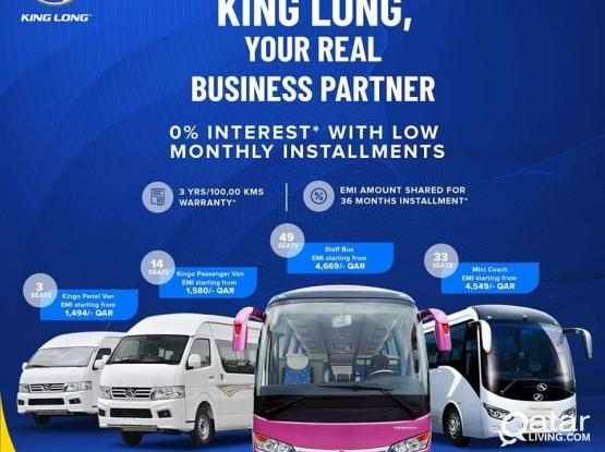 Special King Long Promotion