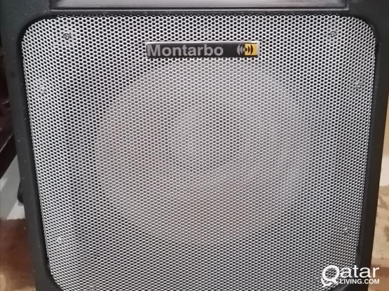 Montarbo MP4 with  4 channel mixer - 100W