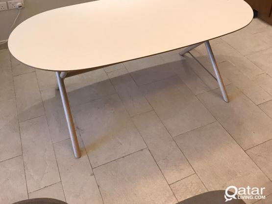 IKEA Dining Table & Home Center Chairs