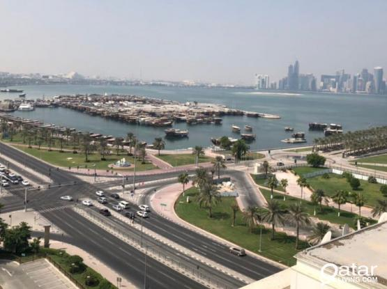 Get 3 months free in Al corniche road +free maintenance+ free electricity