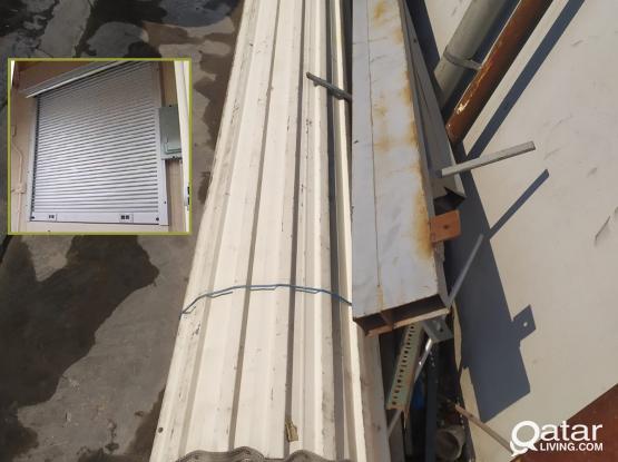 Commercial Rolling Steel Door with Frame 4m X 4m