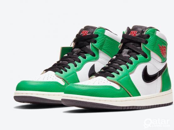 Jordan 1 High OG lucky green (42)