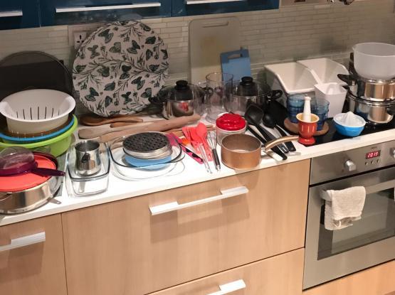Kitchen Moving Sale