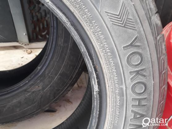 215/60/R16 4 no's Tyres for sale-Price-450 QR.