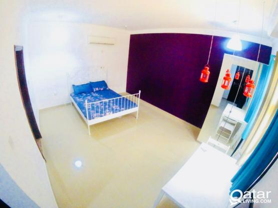 Fully furnished studio apartment - Near Ering road