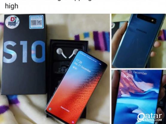Samsung S10 (Brand new)
