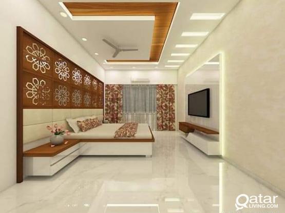 Required studio type 2 bed rooms in bin Imran