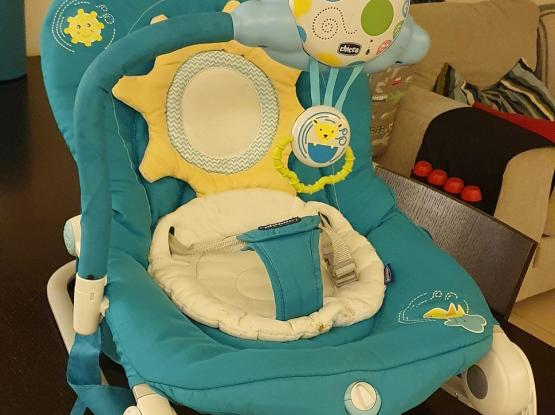 CHICCO ADJUSTABLE BABY ROCKER CHAIR FROM BIRTH