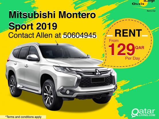 Mitsubishi Montero Sports 2019