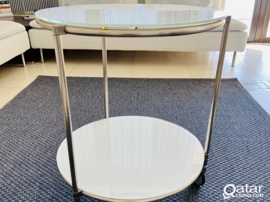 Ikea Strind Coffee Table Side Table Qatar Living
