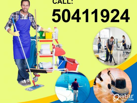 Cleaning services company. Female cleaners available. Please call 50411924