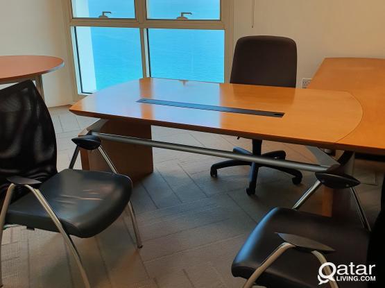 Serviced Office Business Center in Al Dafna-West Bay -