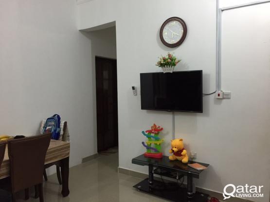 1 BHk accommodation wakra- no commission
