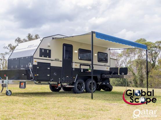 Off Road Caravan Trailer