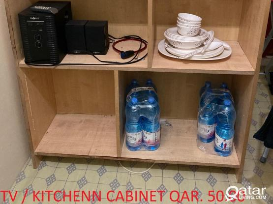 Cabinet for TV or Kitchen QAR. 50.00