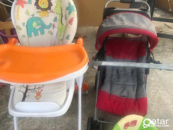 Baby stroller walker