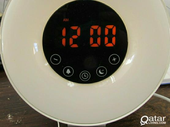 Sunrise Alarm Clock With Radio
