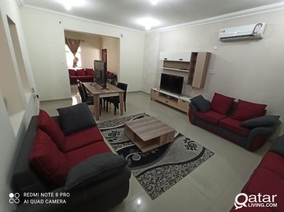 SPACOUS 3 BED FURNISHED VILLA NEAR ANSAR GALLERY AL RAWDA (No Commission)
