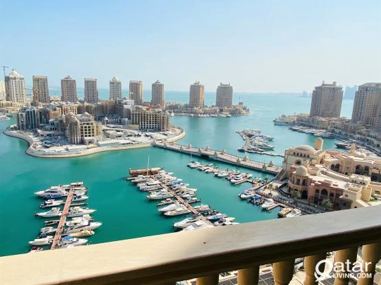 Marina View FF 2bhk Apt With Balcony+Bills In Pearl