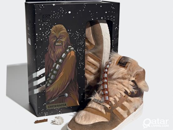 "Star Wars x adidas Rivalry Hi ""Chewbacca"" US 8.5"