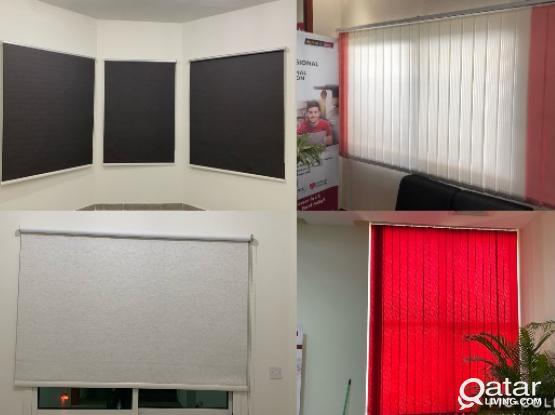 Office curtain,Roller Blackout , Blind & Vertical