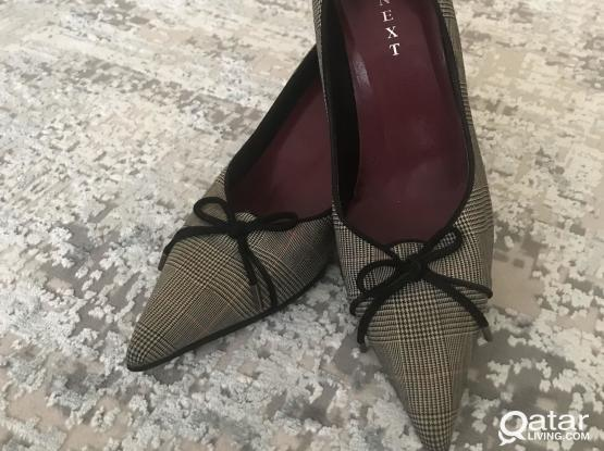 """""""NEXT""""  shoes with bow ( NEW )"""