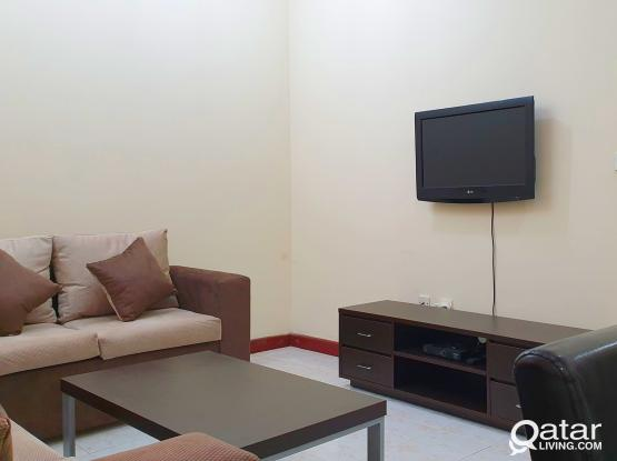 NO COMMISSION Furnished 1BHK apartment @ (MUSHERIB opp Metro station)