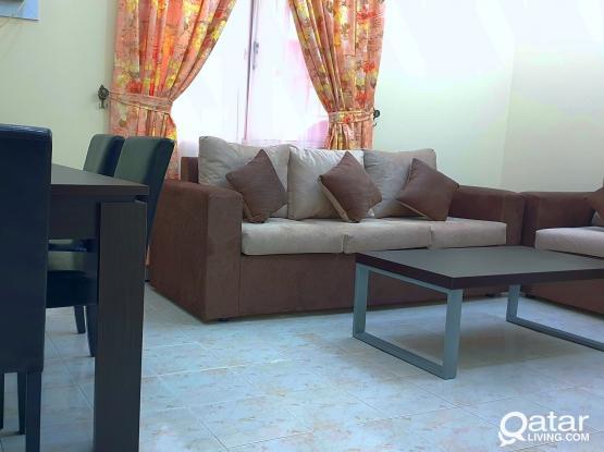 NO COMMISSION+ 1 MONTH FREE Fully Furnished 1BHK apartment @ (MUSHERIB opp Metro station)