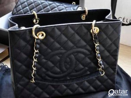 Chanel totes premium quality on hands