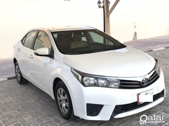 Toyota Corolla XLI 2015