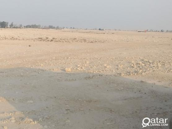 LAND FOR RENT AL WUKAIR (Aapproved by the government)