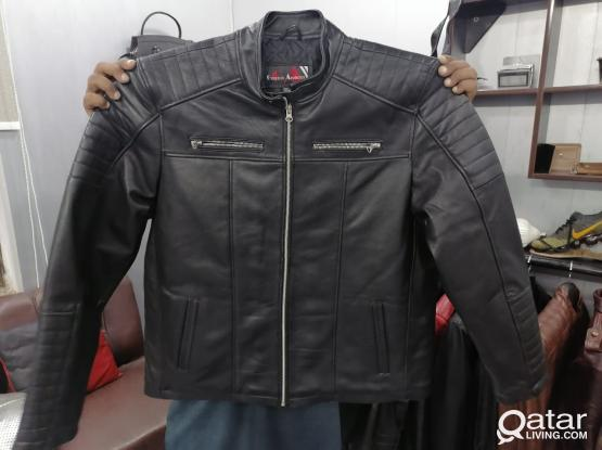 Genuine Leather Jacket big sizes