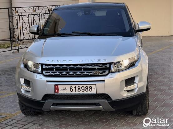 Land Rover Evoque Prestige 2015