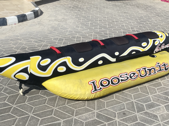 Inflatable Banana and Donut