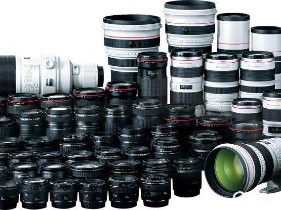 Canon Lenses for Rent